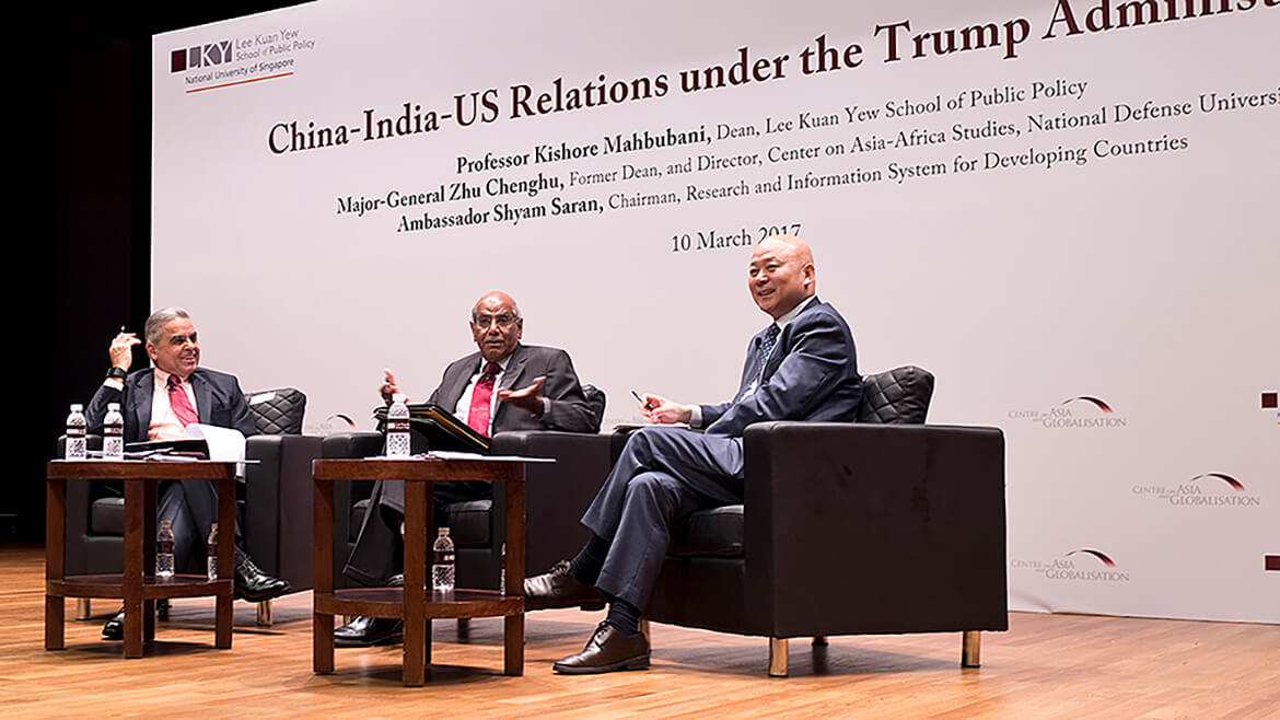 China-India-US Relations under the Trump Administration