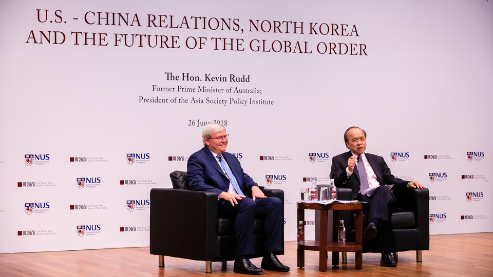 Kevin Rudd: U.S. - China Relations, North Korea & the Future of the Global Order