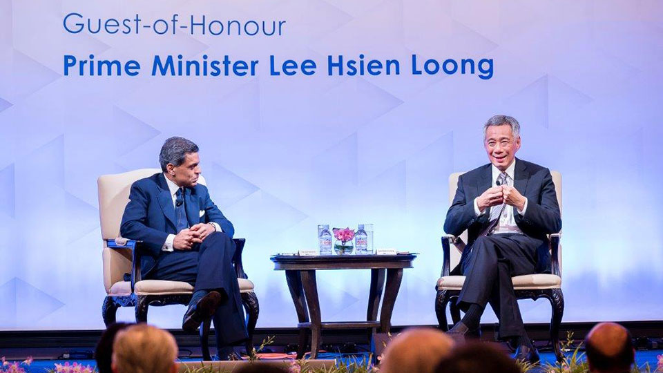 Conversation with Prime Minister Lee Hsien Loong